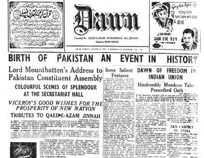 August 14, 1947: Pakistan is born | Knappily