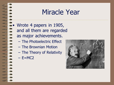 November 21, 1905: Einstein's mass-energy paper is published | Knappily